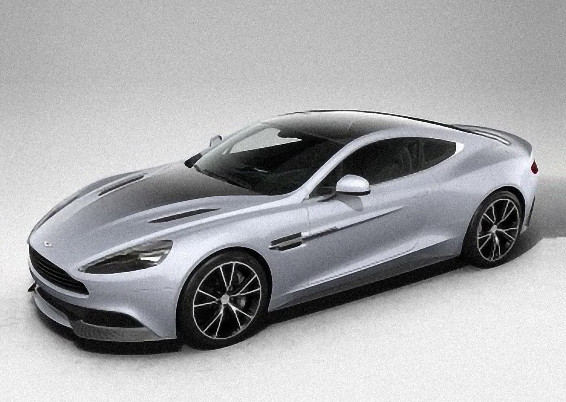 Aston Martin, V12 Vanquish, VH [2011 .. 2020] [EUDM] Coupe, AutoDir
