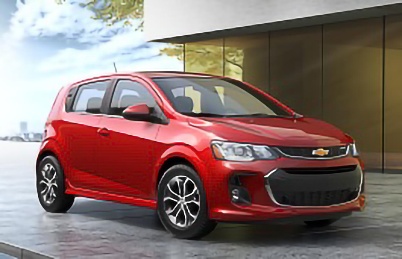 Chevrolet, Aveo, T300 Facelift [2017 .. 2020] [MEDM] Hatchback, 5d, AutoDir