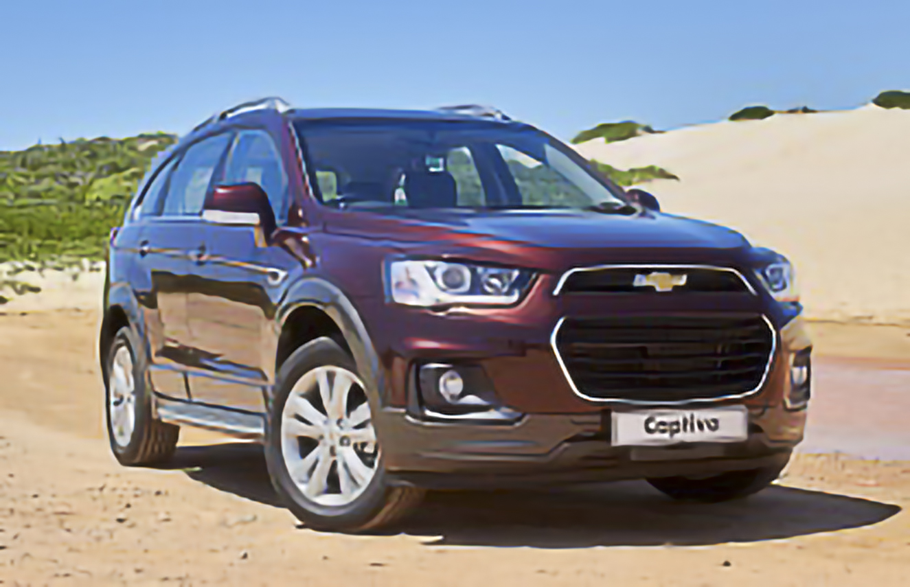 Chevrolet, Captiva, II [2016 .. 2018] SUV, 5d, AutoDir