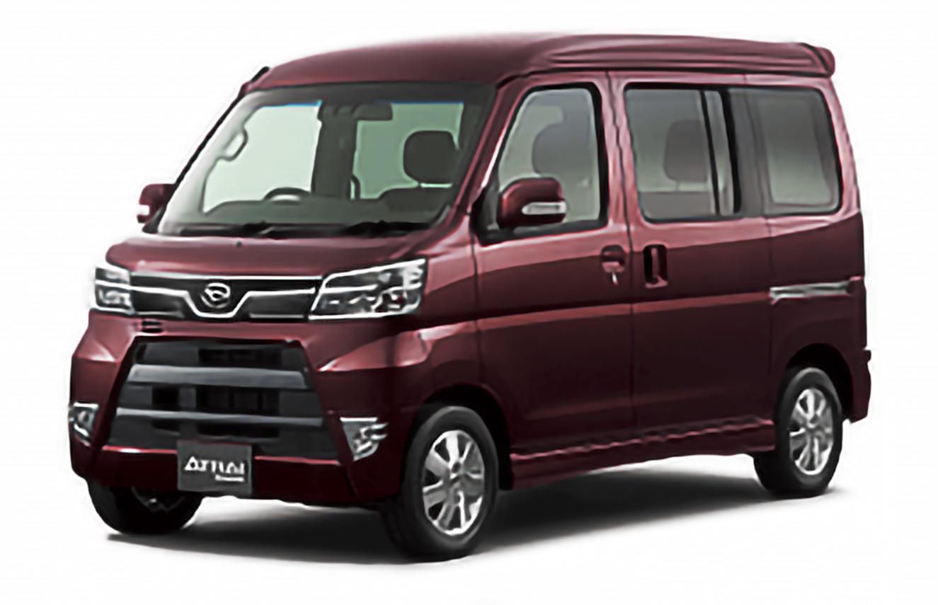 Daihatsu, Atrai Wagon, S300 Restyling [2017 .. 2020] [JDM] MPV, 5d, AutoDir