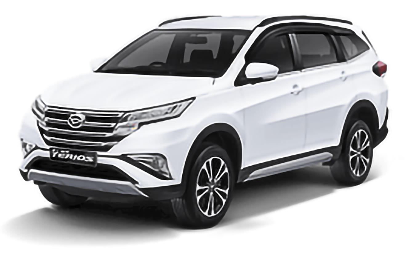 Daihatsu, Terios, F800 [2017 .. 2020] SUV, 5d, AutoDir