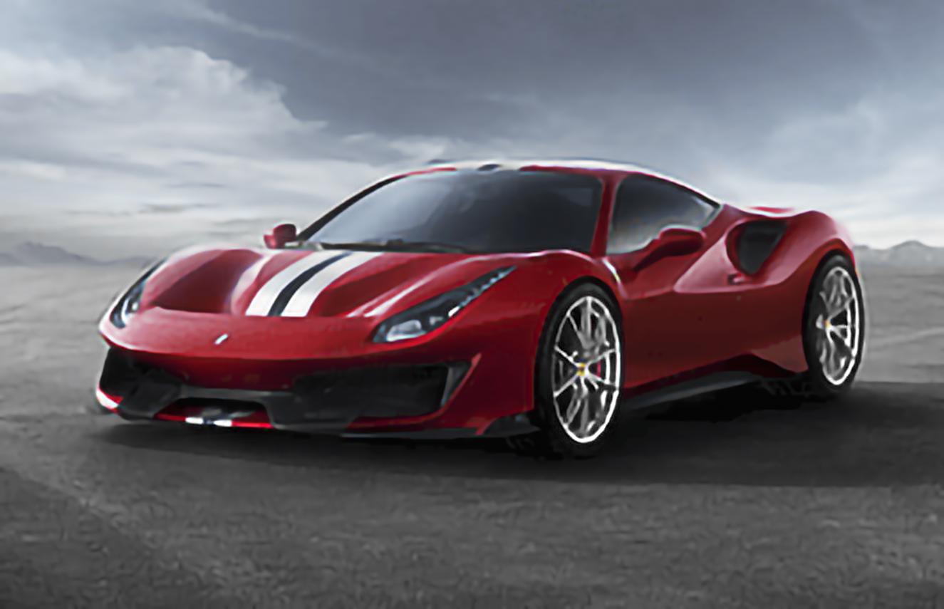 Ferrari, 488 Pista, 2018 .. 2020 [EUDM] Coupe, 2d, AutoDir