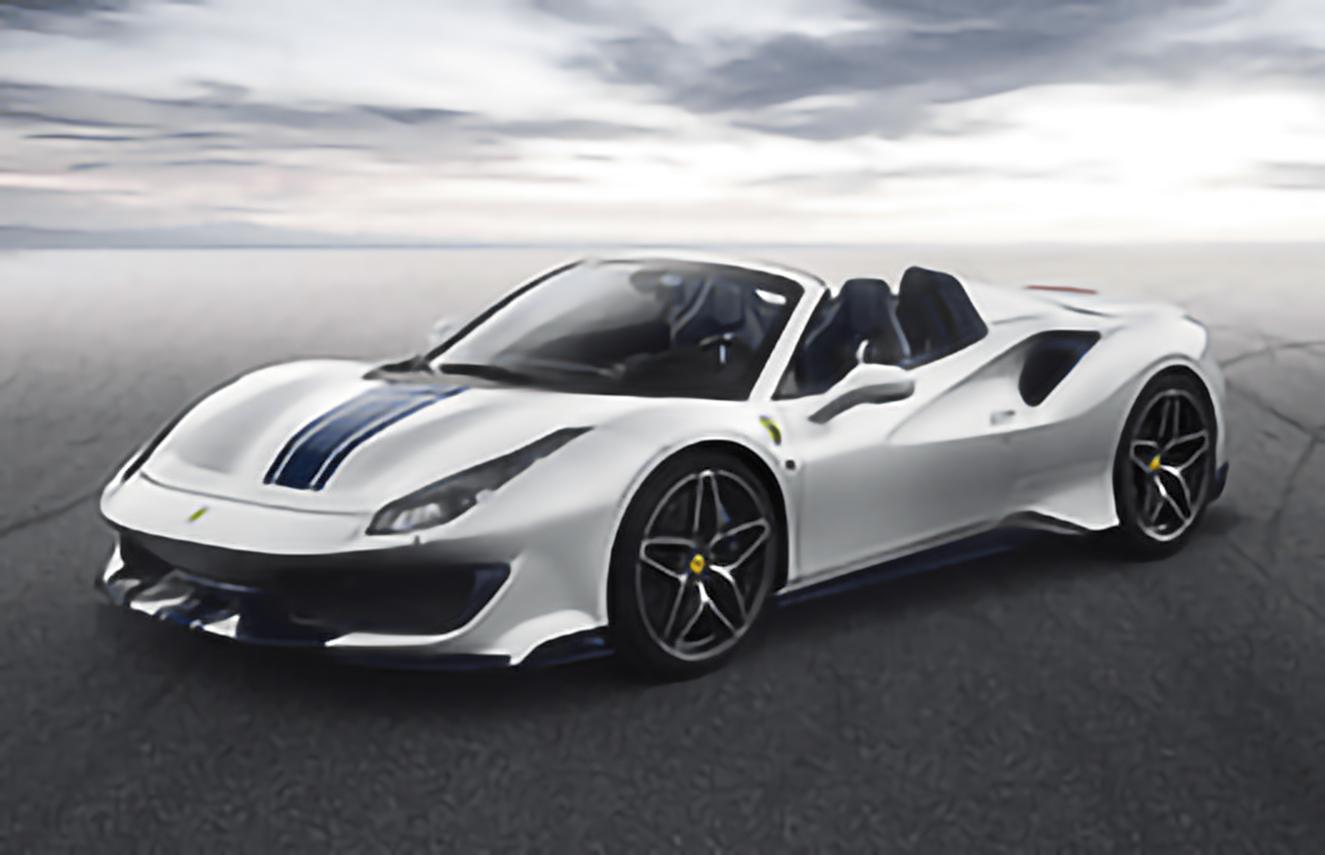 Ferrari, 488 Pista Spider, 2018 .. 2020 Convertible, 2d, AutoDir
