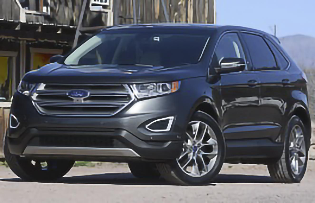 Ford, Edge, II [2015 .. 2018] SUV, 5d, AutoDir