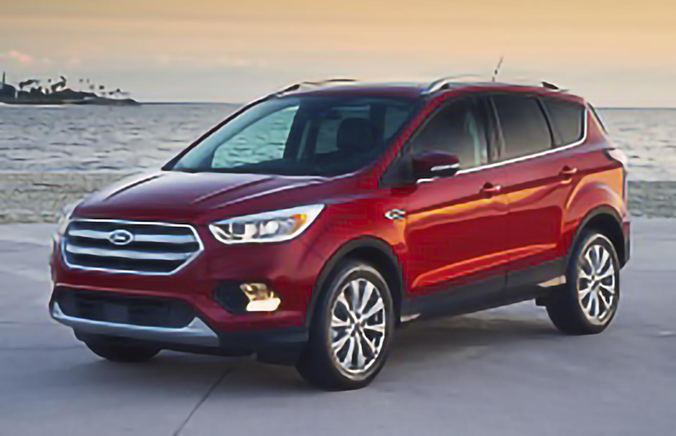 Ford, Escape, III Facelift [2017 .. 2020] [USDM] SUV, 5d, AutoDir