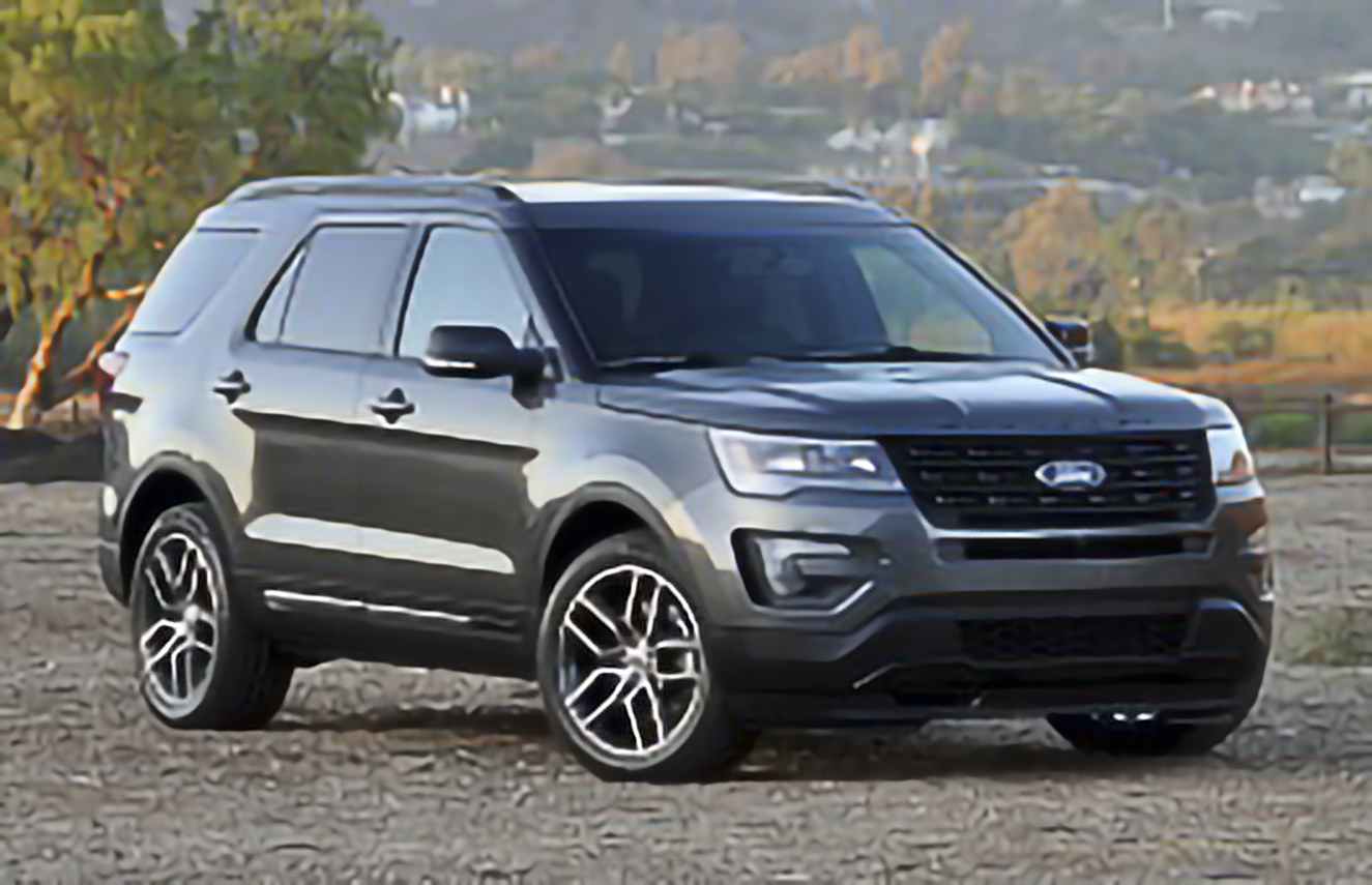 Ford, Explorer, U502 Facelift [2015 .. 2018] SUV, 5d, AutoDir