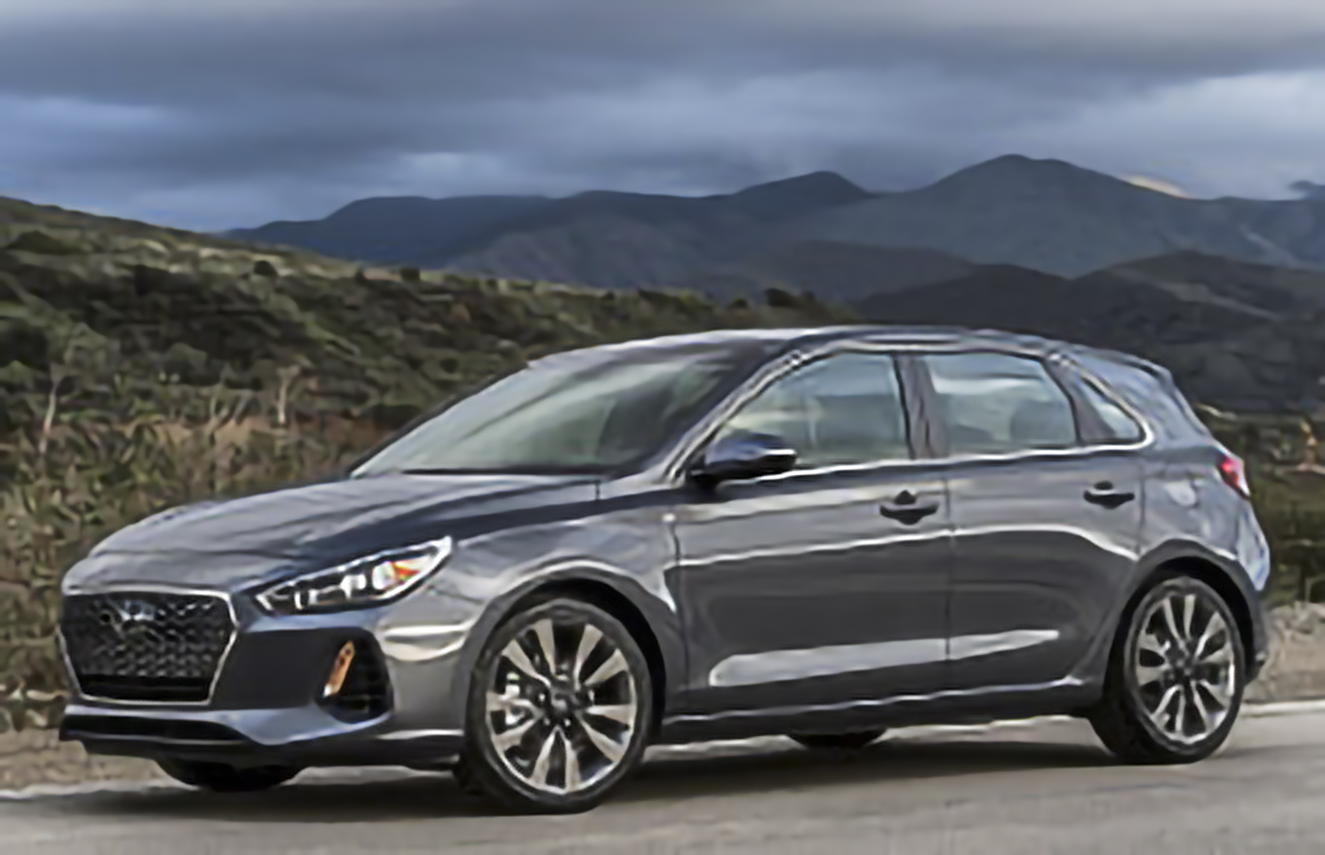 Hyundai, Elantra GT, PD [2018 .. 2020] [USDM] Hatchback, 5d, AutoDir
