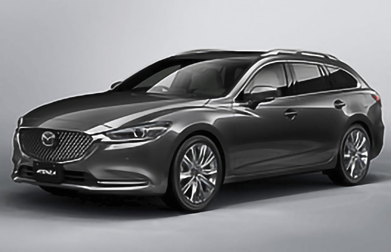 Mazda, Atenza, GJ Facelift [2018 .. 2020] [JDM] Estate, 5d, AutoDir