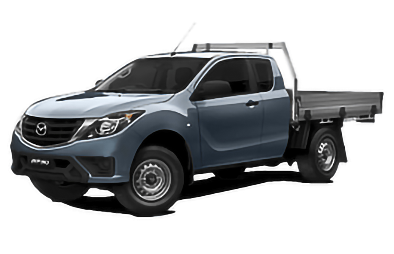 Mazda, BT-50, UR Facelift [2018 .. 2020] Freestyle Cab Chassis, 2d, AutoDir