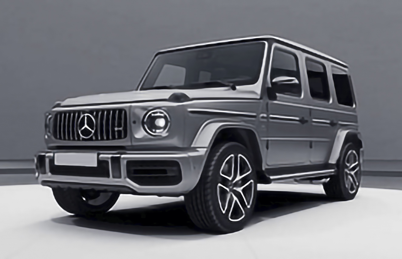 Mercedes-Benz, G-Class AMG, W463 [2018 .. 2020] Closed Off-Road Vehicle, 5d, AutoDir