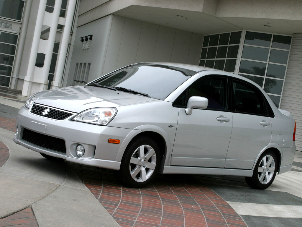 Suzuki, Aerio Sedan [US-spec], 2005–07 Suzuki Aerio Sedan [US-spec] '2004–07, AutoDir