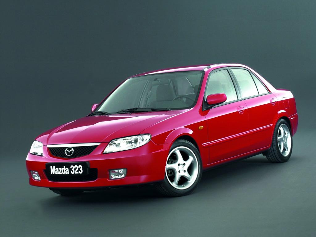 Mazda, 323 Sedan (BJ), Mazda 323 Sedan (BJ) '2000–03, AutoDir