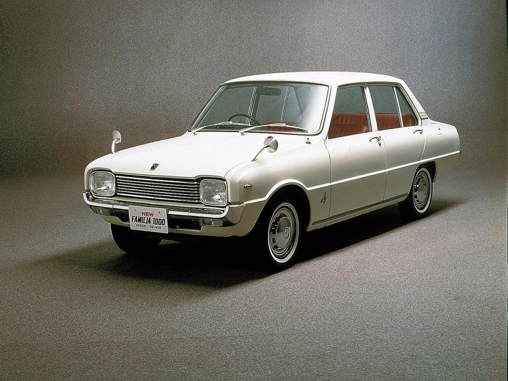 Mazda, Familia 1000 4-door Sedan, Mazda Familia 1000 4-door Sedan '1967–70, AutoDir