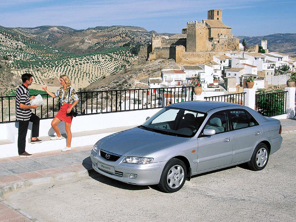 Mazda, 626 Sedan (GF), Mazda 626 Sedan (GF) '1999–2002, AutoDir