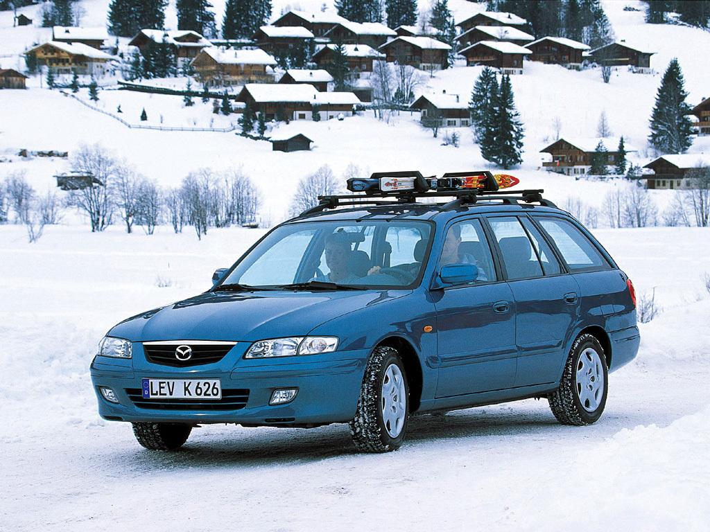 Mazda, 626 Wagon (GW), Mazda 626 Wagon (GW) '1999–2002, AutoDir